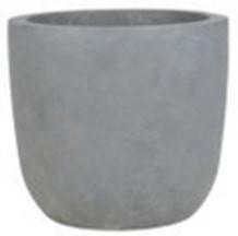 "Pflanzkübel ""Cup"" - Grau - 41cm x 42cm x 42cm"