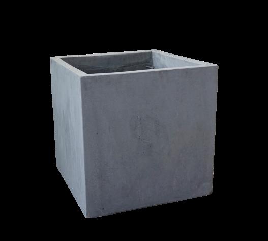 Pflanzkübel Cube - Grau - 25cm x 25cm x 25cm