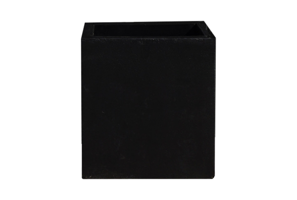 Pflanzkübel Cube -Schwarz- 40cm x 40cm x 40cm
