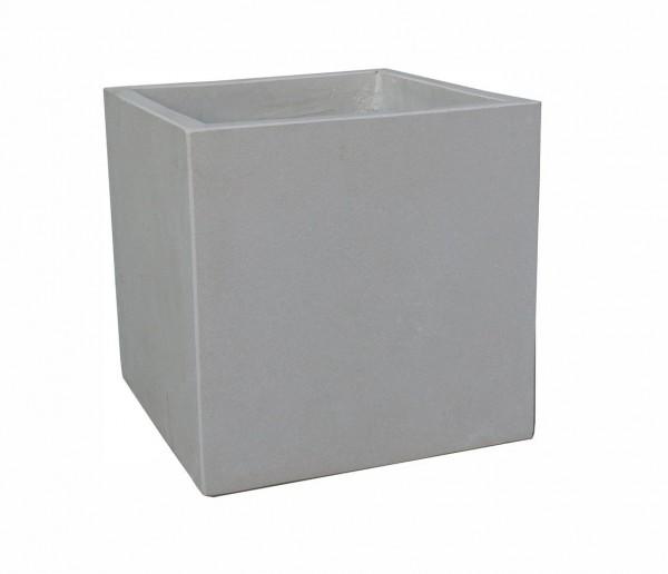 Pflanzkübel Cube - Sand-Farben - 30cm x 30cm x 30cm
